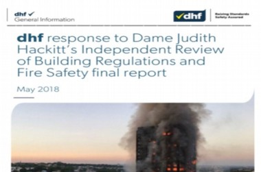 dhf response to Hackitt report