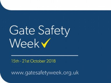 Gate safety week 2018