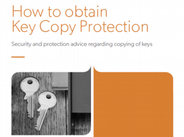 Key Copy Protection publication