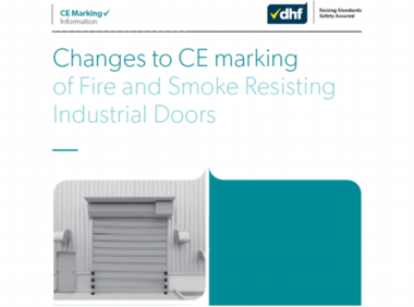Changes to CE marking of Fire and Smoke Res