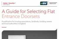 Flat Entrance doorset guidance