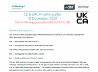 DHF guides its members on CE marking changes