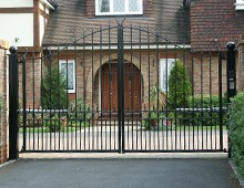 domestic powered gates